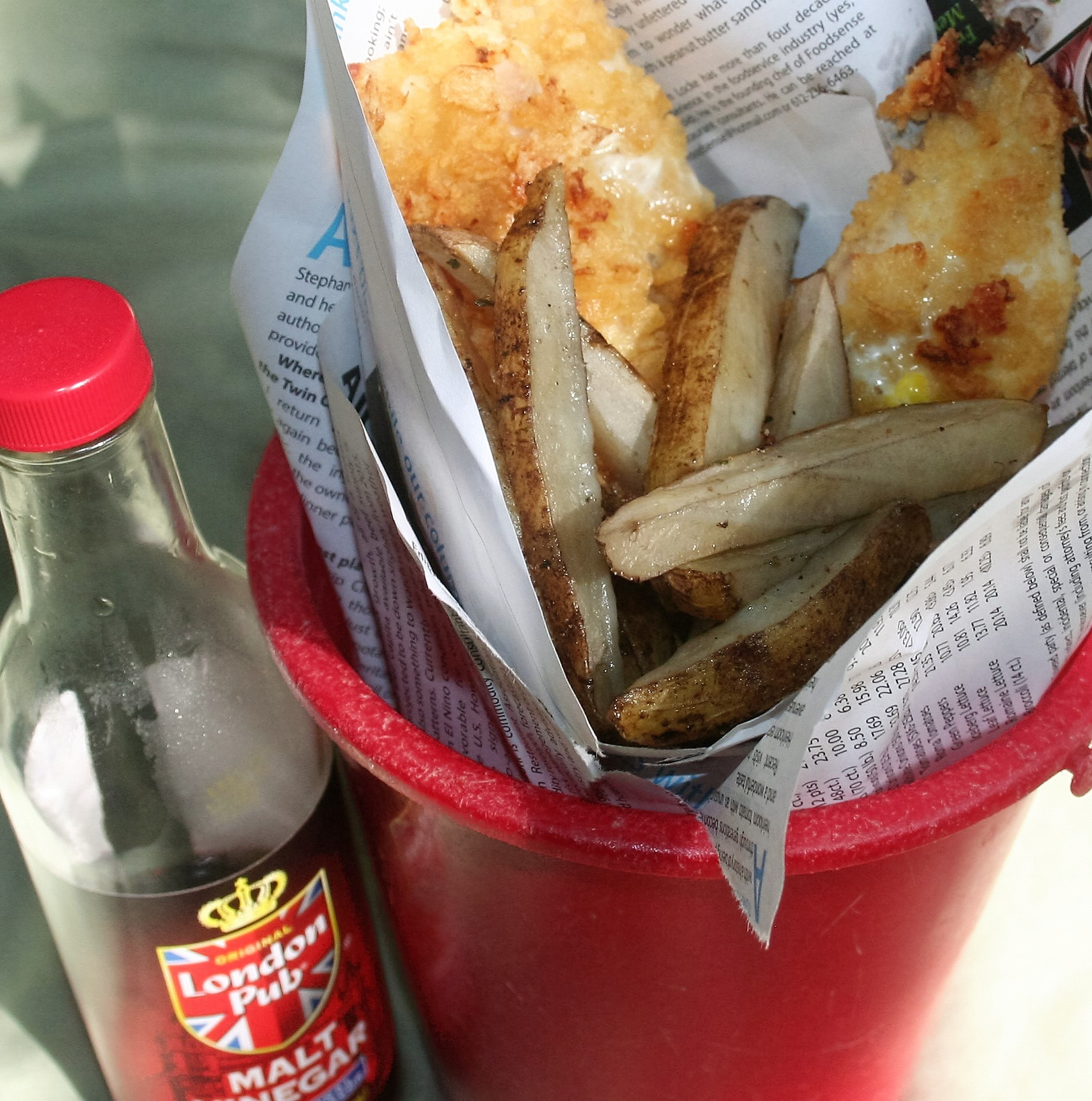 Low sodium fish and chips hacking salt for Low potassium fish